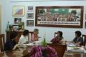 Buổi làm việc giữa bà Jennifer Thomas với BGH Trường Đoàn Thị