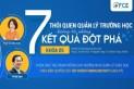 Khóa học 7 THÓI QUEN QUẢN LÝ TRƯỜNG HỌC HƯỚNG TỚI KẾT QUẢ ĐỘT PHÁ, số 5 ngày 24-25/04
