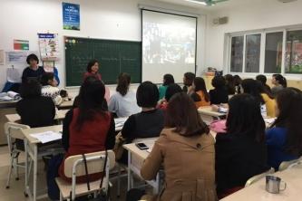 Thầy cô giáo Ban Mai hào hứng tự đào tạo về TLiM